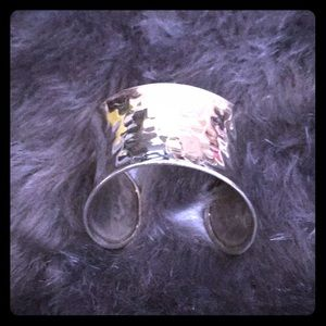 Jewelry - Heavy CUFF Bracelet 925 Silver - Wide